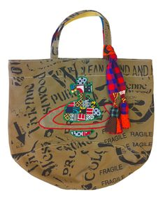 I love these Vivienne Westwood bags she made in collaboration with an Ethical Fashion Programme in Kenya