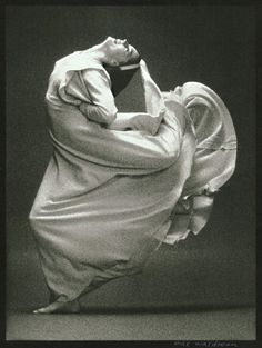 Frontier, a dance from Martha Graham photo by Max Waldman 1976