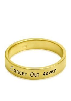 Belk  Co.  10KY CANCER OUT RING SZ5