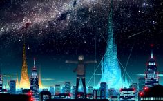 Anime City Scenery Wallpaper Images 6 HD Wallpapers