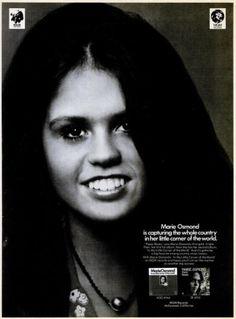 Marie Osmond 'In My Little Corner Of The World.' ('Billboard' magazine ...