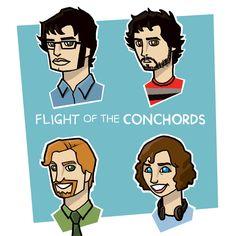 Flight of the Conchords - natexopher.deviantart.com