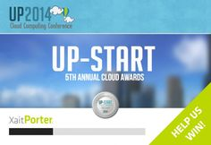 Xait has been nominated for the UP-Start 2014 Cloud Awards. XaitPorter is nominated for best web collaboration solution.