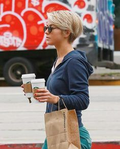 Julianne Hough Short Hair Pixie