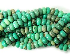 Green grass agate faceted rondelles (5x8mm) at GIFTSJOY.COM