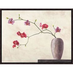 """Global Gallery 'Balance' by Shin Mills Framed Painting Print on Canvas Size: 12"""" H x 16"""" W x 1.5"""" D"""