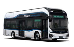 Hyundai is the latest automobile maker to jump on the green bandwagon after unveiling its first mass-produced electric bus called the Elec City. Mode Of Transport, Public Transport, Tucson, Ev Charging Stations, Volkswagen, Auto Motor Sport, Der Bus, Bus Travel, Tecnologia