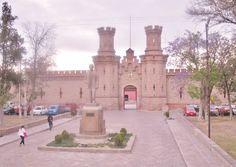 Centro Penitenciario y ahora Centro de las Artes, inaugurado el 5 de Mayo de 1890. San Luis Potosí - México.