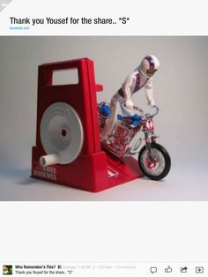 70's was evil knievel toy