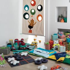 My Great Bean Bag Toss in All Toys  --could make something like this