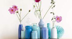 Peinture sur verre : des vases design et pas cherPeindre des vases