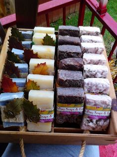 Organic Natural Soap Bars by thirddayluxurysoaps on Etsy, $6.00