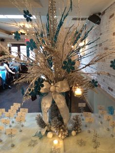 Décor for Entrance Table - Baby Shower
