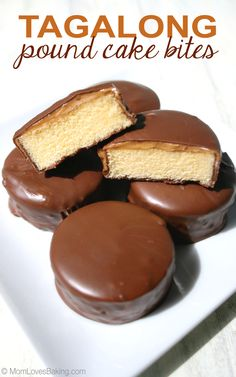 You're just 3 ingredients away from making your favorite Girl Scout cookie in bite size cakes.