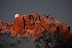Italy - Dolomiten - Popera-Upper Comelico Group- Il tramonto della luna