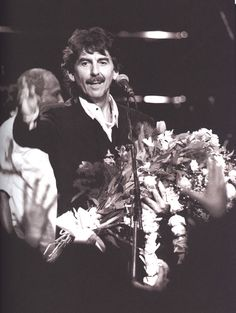 """George Harrison at the Natural Law Party concert (1992) QUESTION: Will you perform live again?GEORGE: What do you think this is? This is a day's work. You mean musically, I don't know. I doubt it, it's too much trouble. Besides, I'm not sure anybody wants to see me.  - Fifty Years Adrift press conference (1984) """"Harrison is genuinely unsure if he still has any fans."""" - Mark Lewisohn, The Observer magazine (1987) """"I'm always paranoid about whether people like me. You never know."""" - George…"""