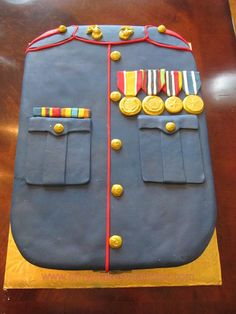 Marine Corps Cake... How awesome is this?!