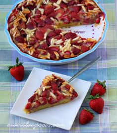 Manila Spoon: Strawberry and Almond Clafouti