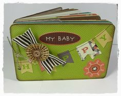 BlueSkyScrapping: A Mini Album for the new baby!