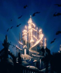 day 7: favorite castle is the one from the little merimad. i like how it has so many parts that otheer disney castles dont have. its nice to see a change from the cinnderella castle