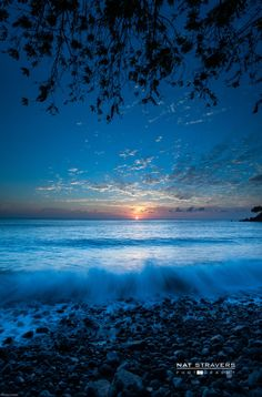 Sunrise at Talumben, Bali, Indonesia