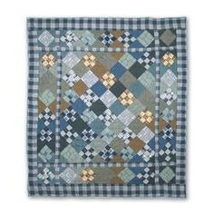 Patch Magic Chambray Nine Patch Quilt | Wayfair--love this one!