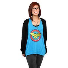 Wonder Woman A-line Ladies' Tank Top at ThinkGeek $20