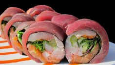 Red Devil Roll #Tampa #USF #Sushi
