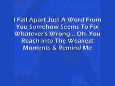 This Song Makes Complete Sense Right. So Happy Valentine's Day :) Songs That Describe Me, Martina Mcbride, I Fall Apart, Music Publishing, Happy Valentines Day, Music Artists, Music Videos, Lyrics, In This Moment