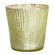 Teelichthalter von Affari in der Farbe grün.