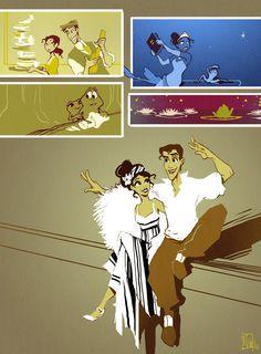 Princess and the Frog - Tiana, Naveen: disney, princess [Aw! <3 ]