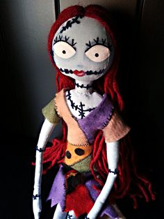 Handmade Doll Sally from Nightmare Before by MoodyVoodies on Etsy, $59.99