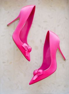 Hot Pink Bridal Shoes