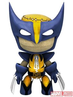 little big planet characters | Wolverine costume in LittleBigPlanet | Apps | Marvel.com