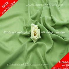 14mm silk crepe de chine fabric-pea green http://www.silkfabricuk.com/14mm-silk-crepe-de-chine-fabricpea-green-p-396.html