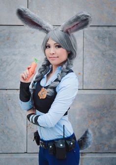 kazenary as Judy Hopps | Zootopia - Zoomania - Zootropolis ❙ costume bought & selfmade - make-up and wig styling are selfmade ❙photographer: Tony Pieskier I didn't upload an...
