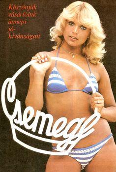 A legszebb magyar szupermodellek, topmodellek, manökenek, fotómodellek (RETRÓ): Bálint Ági szupermodell, sztármanöken Retro Ads, Vintage Advertisements, Vintage Ads, Vintage Posters, Sexy Bikini, Bikini Girls, Beautiful Celebrities, Beautiful Women, Girl Posters