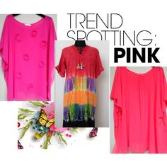 Trend Spotting Pink by charmedbybonnie on Polyvore featuring moda