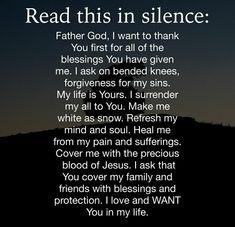 Prayer Of Praise, Prayer Scriptures, Bible Prayers, Faith Prayer, God Prayer, Bible Verses Quotes, Faith In God, Faith Quotes, Good Night Prayer Quotes