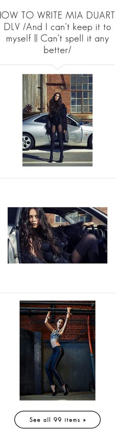 """""""HOW TO WRITE MIA DUARTE DLV /And I can't keep it to myself 