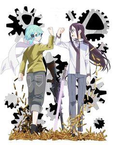 GGO: Kirito and Sinon this season is amazing!