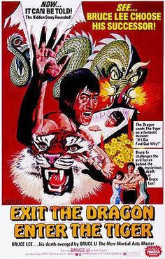 Exit the Dragon Enter the Tiger 1976 Kung Fu Martial Arts Movie Poster! in Entertainment Memorabilia, Movie Memorabilia, Posters Kung Fu Martial Arts, Martial Arts Movies, Martial Artists, Classic Movie Posters, Movie Poster Art, Classic Movies, Print Poster, 1976 Movies, Art Movies