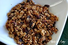 Home Made Granola Recipe