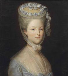 "womeninarthistory: "" Princesse de Lamballe, attributed to Pierre Claude François Delorme """