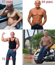 74 Year Old Bodybuilder