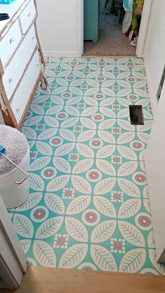 Half Bath Redo - The Happiest Floors on the Block