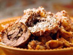 Orecchiette al Ragu di Braciole (Pasta with Beef Ragu and Braciole) : Recipes : Cooking Channel