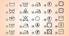 Perite pravilno: objašnjenja znakova na etiketama na odeći. Helpful Hints, 21st, Crafts, Detox, Ideas, Board, Xmas, Lawn And Garden, Useful Tips