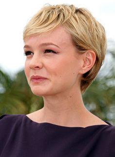 Carey Mulligan Pixie Hairstyle,