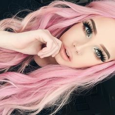 Pretty Pastel Pink HairLoving All These Hair Dying Trends With The Off Beat Colors